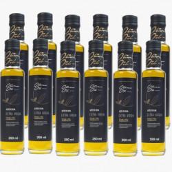 Olio d'oliva Extra - bottiglia di vetro 0.25 Lts