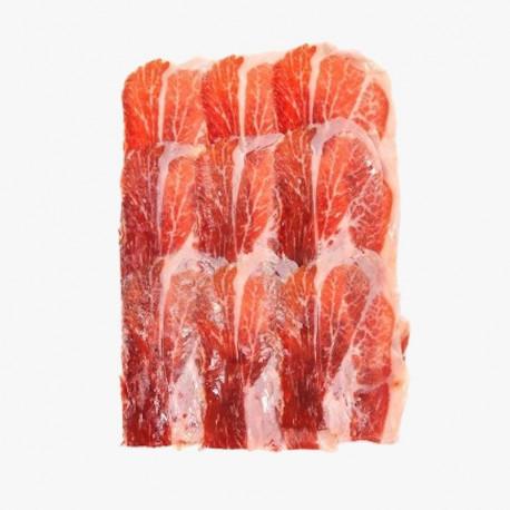 PACK 10x100gr (1kg) Prosciutto crudo Ibérico Etichetta nera affettato