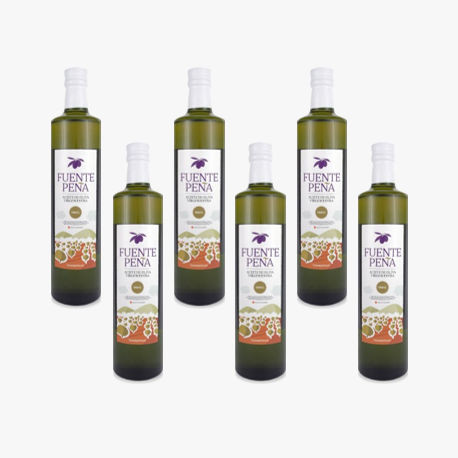 6 bottiglia Olio d'oliva Extra BIO 500ml